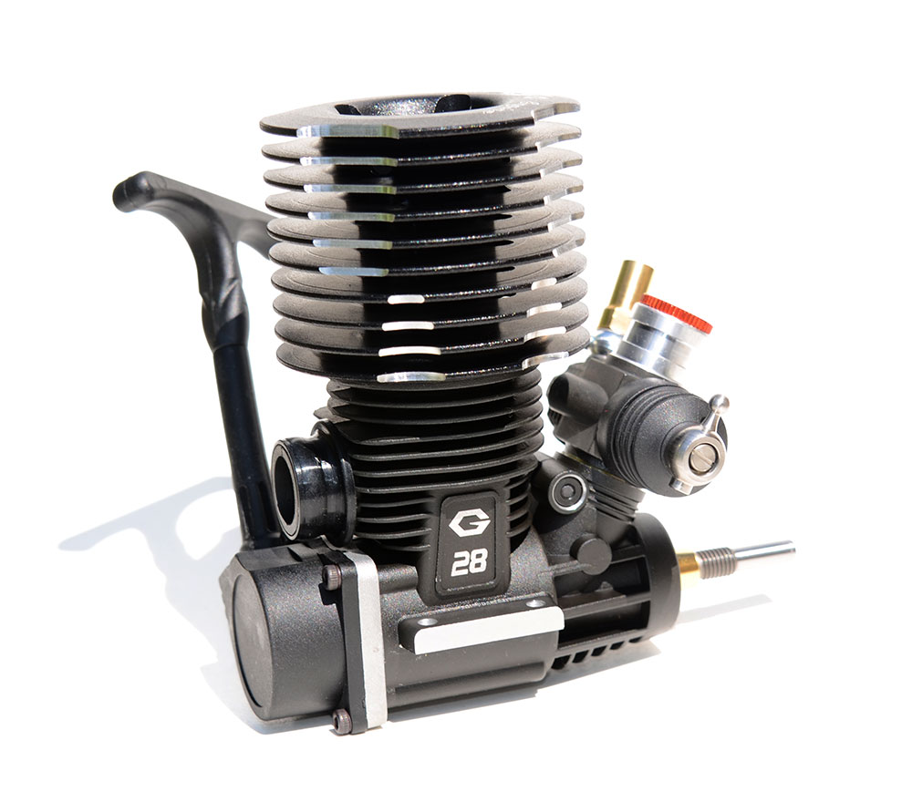 4-59PS-Nitromotor-GO28-BLACK-MAMBA-4-56ccm-Monstertruck-Truggy-Buggy-1-8-RC-Cars