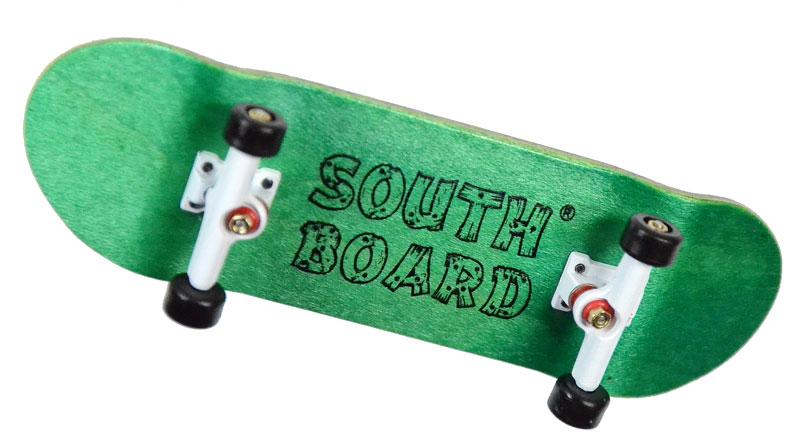 Komplett Holz Fingerskateboard PNK//PNK//WS SOUTHBOARDS® Handmade Wood Fingerboard